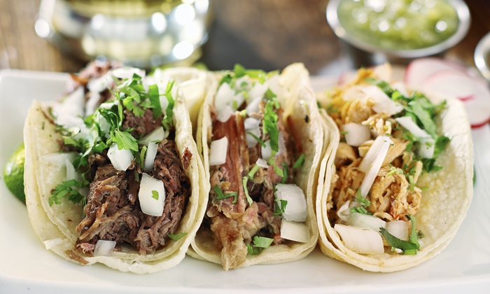 Fiesta Grill Chicago - Lawndale: Taco Meal for Two or Four at Fiesta Grill Chicago (Up to 56% Off)