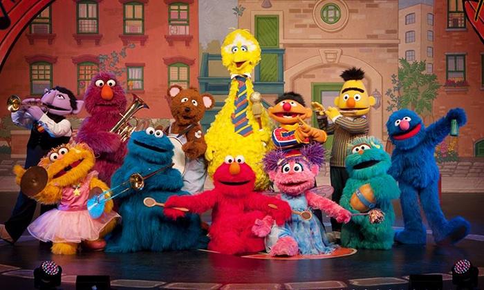 """""""Sesame Street Live: Make a New Friend"""" - Veterans Memorial Coliseum: Sesame Street Live! """"Make a New Friend"""" at Veterans Memorial Coliseum on May 17-18 (Up to 38% Off)"""