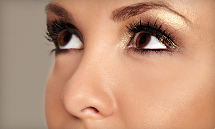 Lashes & Skin Solutions - Rancho Bernadino: Mini, Full, or Glamour Set of Eyelash Extensions at Lashes & Skin Solutions (Up to 58% Off)