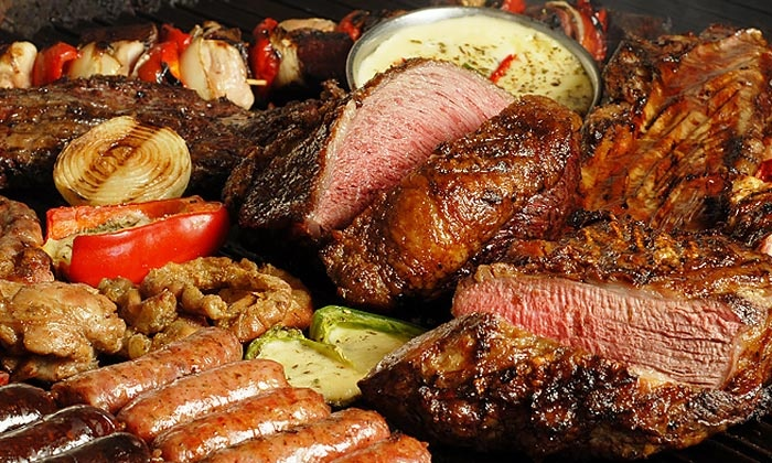The Knife Restaurant- Virginia - Lake Ridge: All-You-Can-Eat Argentinean Steakhouse Experience for Two, Four, or Six at The Knife Restaurant (Up to 30% Off)