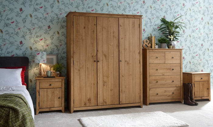 Mexico Solid Pine Bedroom Furniture
