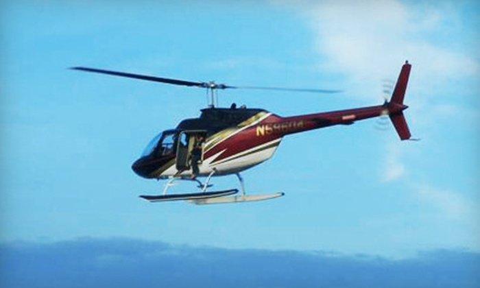 """Timberview Helicopters - Destin: $149 for a 12-Mile """"JAWS"""" Run Helicopter Flight for Up to Three from Timberview Helicopters in Destin (Up to $347 Value)"""