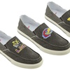 NCAA Drifter Men's Shoes. Indiana–Michigan Available.