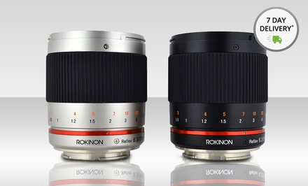 Rokinon 300mm f/6.3 Mirror Camera Lens in Black or Silver. Multiple Options Available. Free Returns.