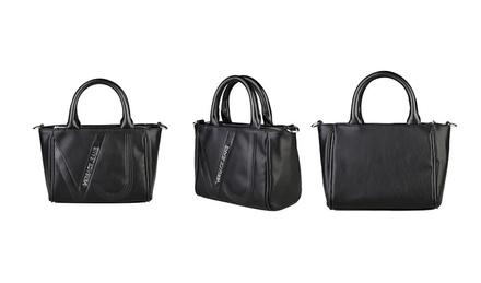 Versace Jeans Logo Handbags