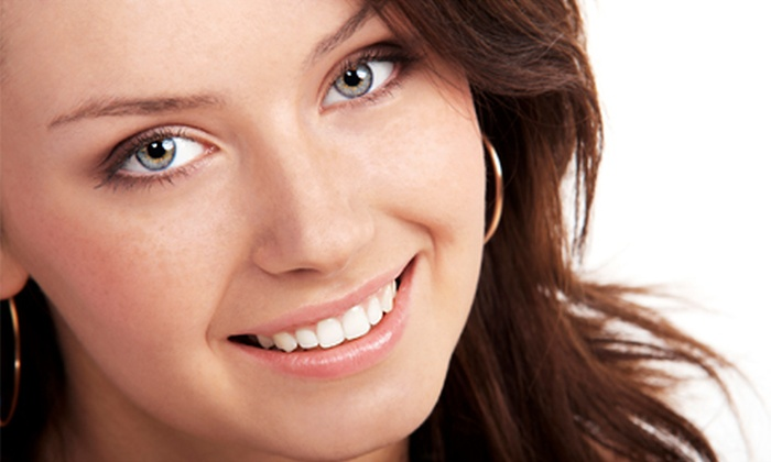 Antech Hair & Skin Clinics - Multiple Locations: Single or Double LED Teeth-Whitening Treatment at Antech Hair & Skin Clinics (Up to 91% Off)