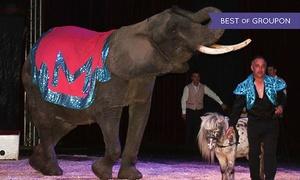 Cirque Maximum: 1 ou 4 places en gradin de face pour le Cirque Maximum dès 10 € dans l'une des villes de la tournée du Sud