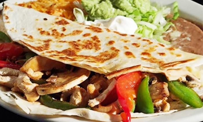 Tres Potrillos - Tres Potrillos: $13.25 for $22 Worth of Mexican Cuisine at Tres Potrillos
