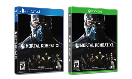 Sell My Car For Cash >> Mortal Kombat XL (Pre-Order) | Groupon Goods