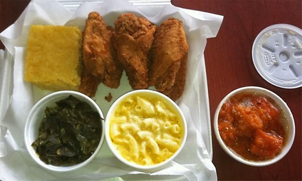 $12 for $20 Worth of Cajun and Creole Cuisine at Da' Wright Fish Market