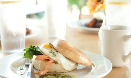 $12 for Casual American Food and Drinks at The Meridian Cafe ($20 Value)