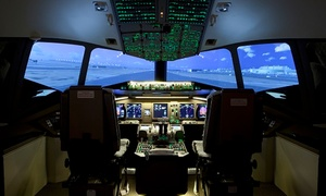 uFly Simulator Inc.: CC$99 for a One-Hour Flight Simulator Experience for Two People at uFly Simulator Inc. (CC$249 Value)