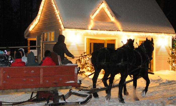 Charmingfare Farm - Charmingfare Farm: $15 for One Ticket for a Horse-Drawn Sleigh Ride at Charmingfare Farm ($25 Value)