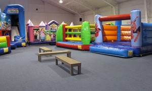 Bounce! Fun Center: $29.95 for an Open-Bounce 10-Punch Card at Bounce! Fun Center ($50 Value)