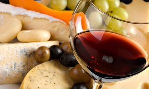 Blue Heron French Cheese Company: $15 for Wine Tasting with Fruit and Cheese Platter for Two at Blue Heron French Cheese Company ($30.50 Value)