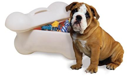 Bone-Shaped Storage Bins for Pets
