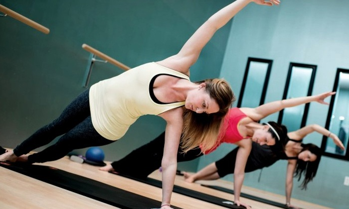 My Thrive Pilates - Multiple Locations: 5 or 10 Mat or Barre Classes at My Thrive Pilates (Up to 50% Off)