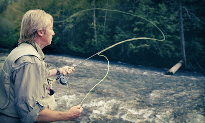 All Rivers & Saltwater Charters - Issaquah Highlands: Two-Hour Fly-Casting Lesson for One, Two, or Eight at All Rivers & Saltwater Charters (Up to 66% Off)