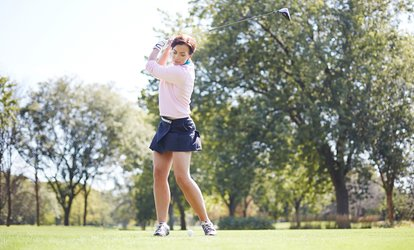 image for 30-, 60-, or 120-Minute Private <strong>Golf</strong> Lessons at Jon Manos <strong>Golf</strong> Academy with <strong>Golf</strong> Professionals Jon Manos and Adam Aronson (Up to 56% Off)