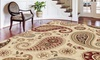 "Tansitional Paisley Area Rugs: Tansitional Paisley 5'3""x7'3"" Area Rugs"