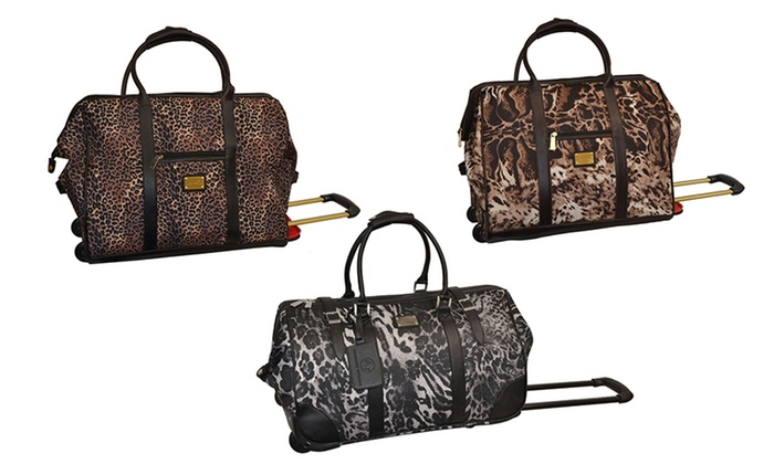 adrienne vittadini rolling weekender duffle bag adrienne vittadini rolling weekender duffle bag brought to