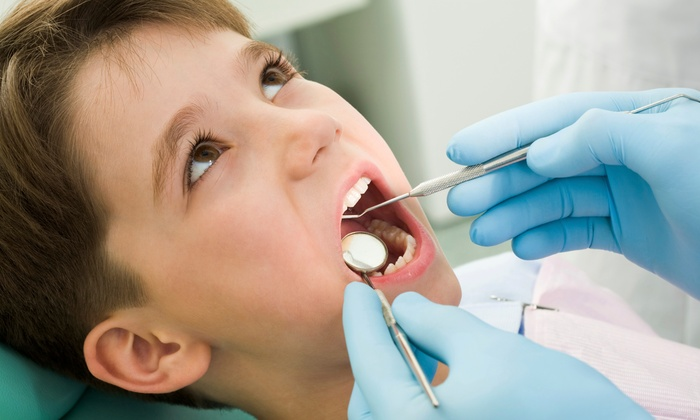 Tooth Fairy Dental Center - Multiple Locations: Kids' Dental-Exam Package with Optional Sealant for Four Teeth at Tooth Fairy Dental Center (Up to 91% Off)