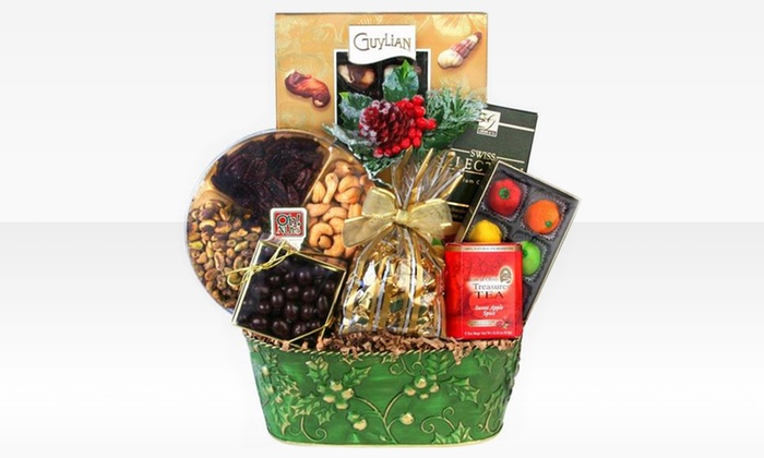 Oh! Nuts Holiday Chocolates: Oh! Nuts Holiday Chocolate Basket