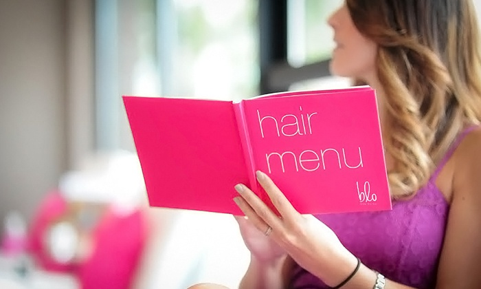 Blo Blow Dry Bar La Mesa - Blo Blow Dry Bar La Mesa: Blowout with Option for Manicure at Blo Blow Dry Bar La Mesa (Up to 38% Off)