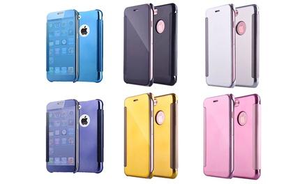 iPhonebeschermhoes met spiegeleffect in kleur naar keuze voor € 9,99 korting