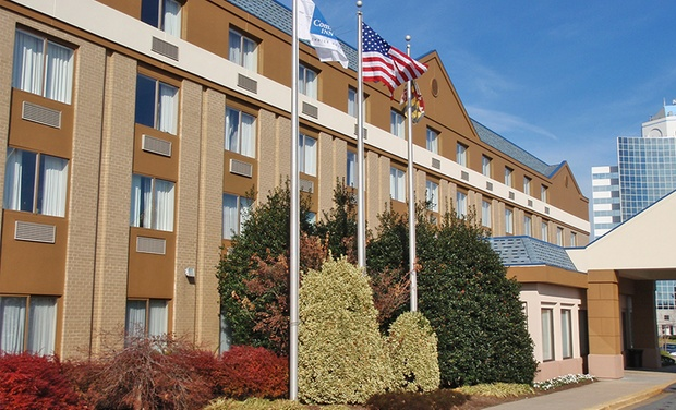 Hotel in Beltsville - Beltsville, MD: Stay at Renovated Hotel near DC, with Dates into September