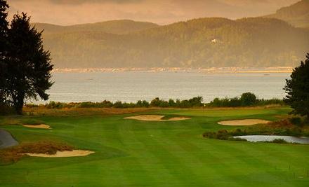 18-Hole Round of Golf for 2 with Cart Rental - Salishan Spa & Golf Resort in Gleneden Beach