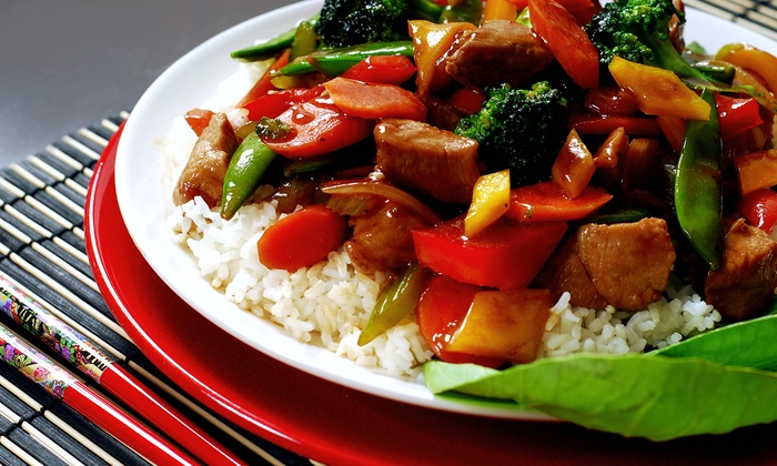 Spring Garden - AU Park - Friendship Heights - Tenley: $10 for $17 Worth of Chinese Takeout from Spring Garden