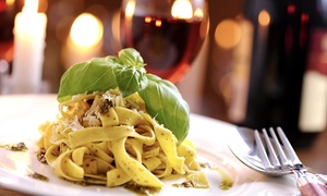 La Nuova Piazza: Menu en 3 services pour 2, 4 personnes dès 34,99€ au restaurant La Nuova Piazza