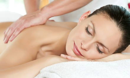 Spa Package with One-Hour Massage, Facial, and Body Scrub for One or Two at Self Indulgence Spa (Up to 62% Off)