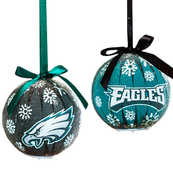 Clearance Nfl Led Christmas Ornaments