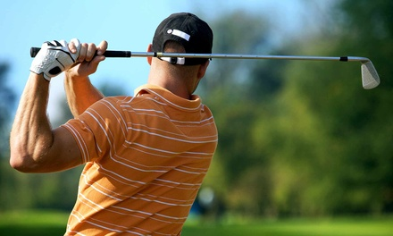 18-Hole Round of Golf for Two or Four Plus Cart and Range Balls at Clover Valley Golf Club (Up to 55% Off)