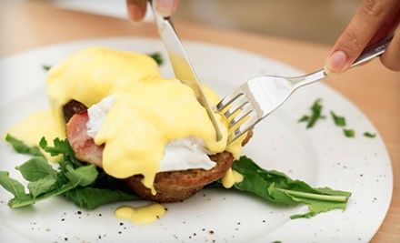 Weekend Brunch for Two or Four with Coffee and Mimosas at Marcony Ristorante (Up to 60% Off)