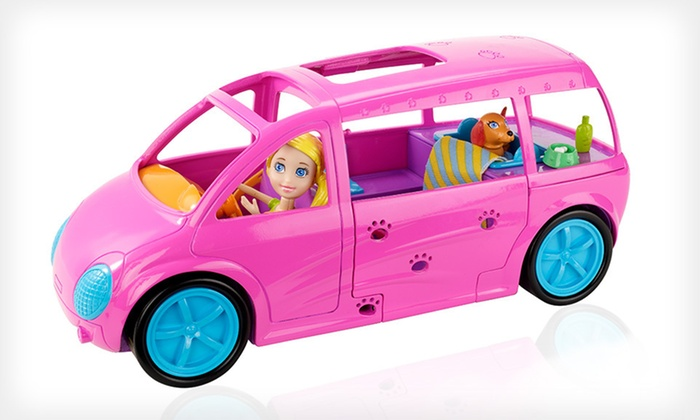 Mattel Polly Pocket Cruisin' Pet Spa: $19 for a Polly Pocket Cruisin' Pet Spa Set ($23.48 List Price). Free Shipping and Free Returns.