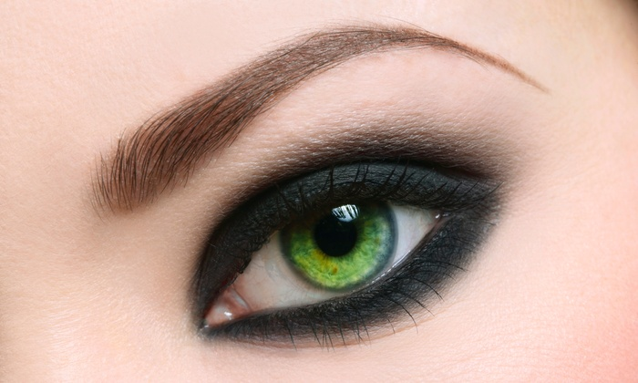 thINK pure - Camelback East: Permanent Top Eyeliner, Bottom Eyeliner, or Both, or Permanent Eyebrow Makeup at thINK pure (Up to 80% Off)