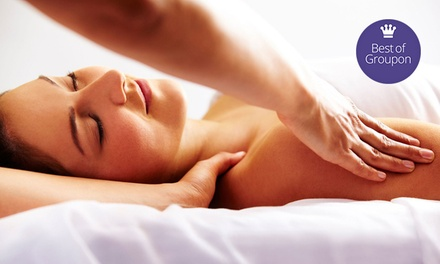 One or Three 55-Minute Massages at Elements Massage (Up to 63% Off)
