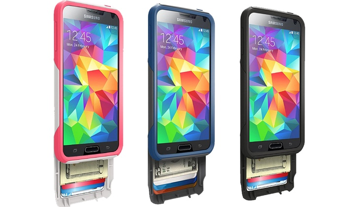 best service 14518 b7ebd OtterBox Commuter Series Wallet Case for Samsung Galaxy S5 | Groupon