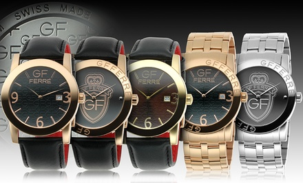 gf ferre s swiss made watches groupon