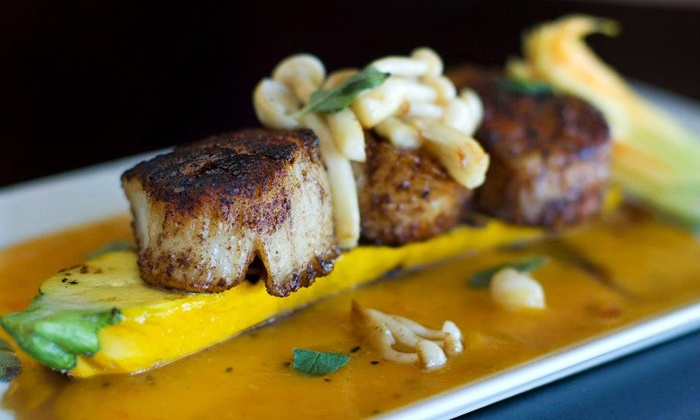 Bourbon's Bistro - Clifton: $22 for Upscale American Cuisine and Bourbon-Inspired Dishes at Bourbon's Bistro ($40 Value)