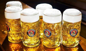 Snow Factor: Beer Tasting With Bavarian Meat and Cheese Platter from £10 at Bar Varia, Snow Factor (Up to 71% Off)