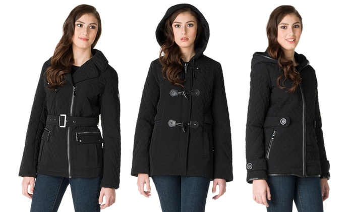 Blanc Noir Mini Quilted Jackets: Blanc Noir Mini Quilted Jackets. Multiple Styles Available. Free Shipping and Returns.