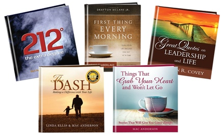 One, Three, or Five Inspirational Books from Simple Truths (Up to 56% Off)