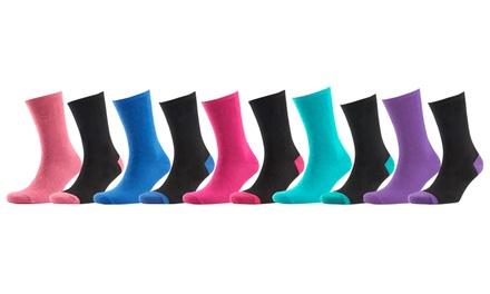 10 £8.99 or 20 £17.95 Women's Socks