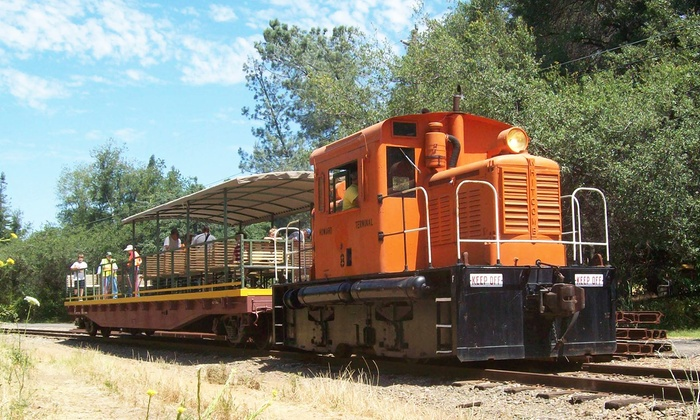 Placerville & Sacramento Valley Railroad - Broadstone: Excursions Aboard the White Rock Express on the Placerville & Sacramento Valley Railroad (Up to 52% Off)