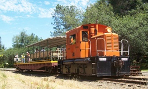 Placerville & Sacramento Valley Railroad: Ride Aboard the White Rock Express on the Placerville & Sacramento Valley Railroad (Up to 52% Off). Four Options