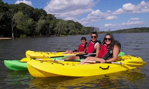 Freeport Kayak Rentals: Standup Paddleboard or Kayak Rental at Freeport Kayak Rentals (Up to 64% Off). Three Options Available.